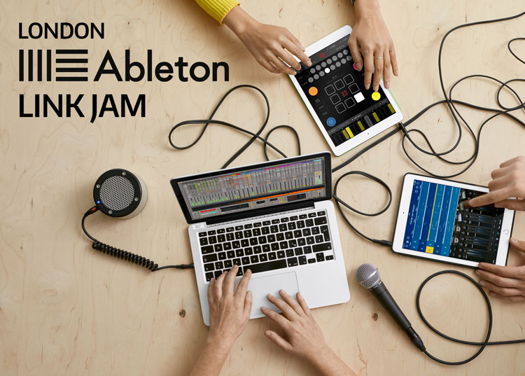 London Ableton Link Jam at Crux - Sat 19 March 2016