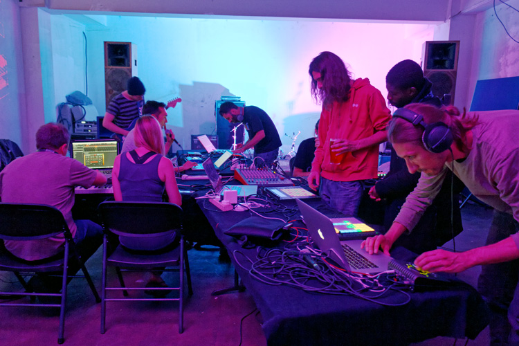 Ableton Link Jam - hosted by Crux - Tues 11 July 2017